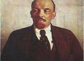 מנהיגות ולדימיר איליץ לנין מוביל המהפכה הבולשביקית