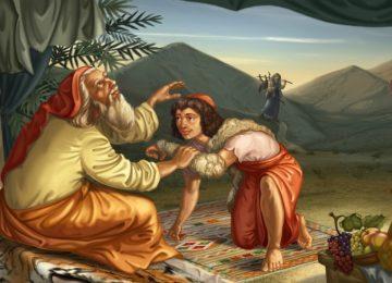 הולדת יעקב ועשו וגניבת הבכורה