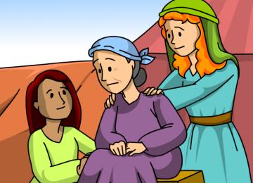 רות ונעמי – על האחר במקורות ובימינו ( שבועות ומנהיגות )